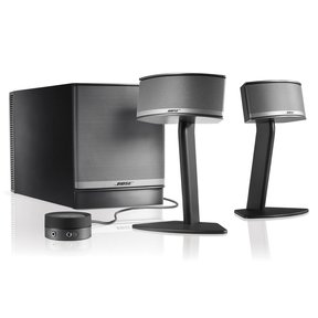 Companion 5 Multimedia Speaker System (Black)
