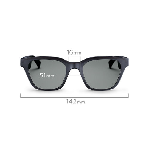 View Larger Image of Frames Alto S/M Bluetooth Audio Sunglasses with Integrated Microphone and Two Replacement Lenses (Mirrored Silver and Blue)