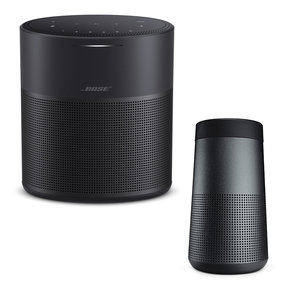 Home Speaker 300 with SoundLink Revolve Bluetooth Speaker (Black)