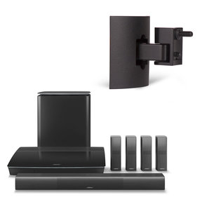 Lifestyle 600 Home Entertainment System with UB-20 Series II Wall/Ceiling Bracket