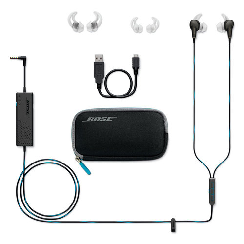 View Larger Image of QC20 QuietComfort 20 Acoustic Noise-Canceling In-Ear Headphones for Apple