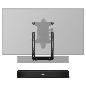 Solo 5 TV Sound System with SoundXtra TV Mount Attachment