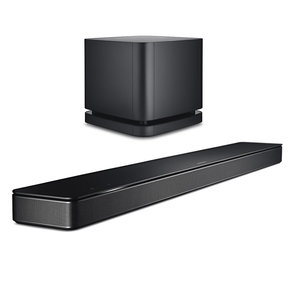 "Sound Bar 500 3.1 Home Theater System with Built-In Amazon Alexa and Bass Module 500 10"" Wireless Subwoofer (Black)"