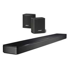 Soundbar 500 5.0 Surround System with Built-In Amazon Alexa and Pair of Surround Wireless Speakers (Black)