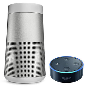 SoundLink Revolve Bluetooth Speaker with Amazon Echo Dot Smart Speaker