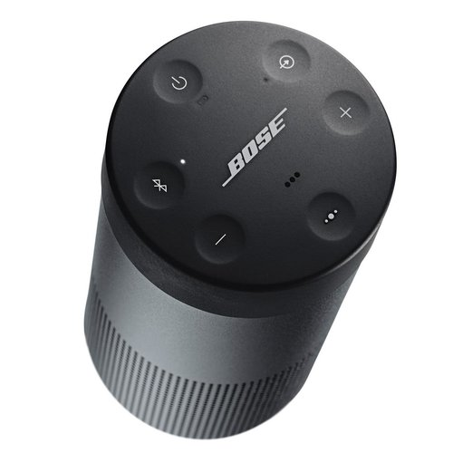 View Larger Image of SoundLink Revolve Bluetooth Speakers (Black) with SoundLink Revolve Charging Cradles - 2 Pack