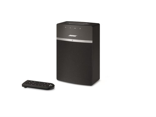 View Larger Image of SoundTouch 300 Soundbar, Acoustimass 300 Wireless Bass Module Subwoofer and SoundTouch 10 Wireless Music System (Black)
