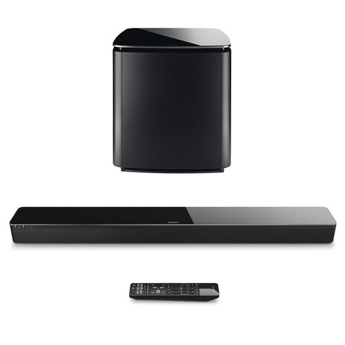 View Larger Image of SoundTouch 300 Soundbar with Acoustimass 300 Wireless Bass Module Subwoofer