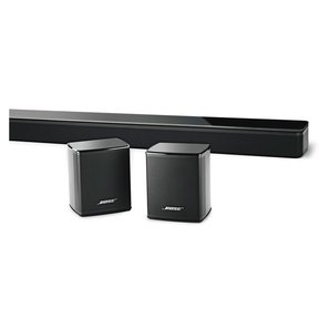 SoundTouch 300 Soundbar with Virtually Invisible 300 Wireless Surround Speakers - Pair (Black)