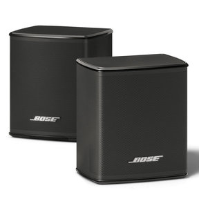 Virtually Invisible 300 Wireless Surround Speakers - Pair (Black)