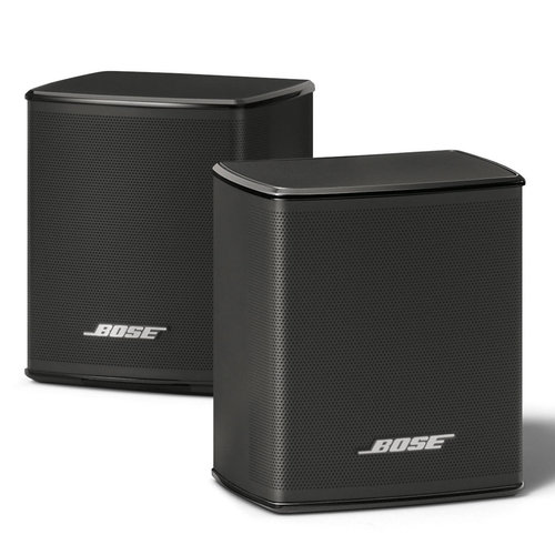 View Larger Image of Virtually Invisible 300 Wireless Surround Speakers - Pair (Black)