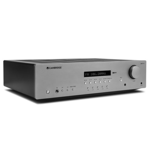 View Larger Image of AXR100 FM/AM Stereo Receiver (Silver)