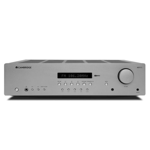 View Larger Image of AXR85 FM/AM Stereo Receiver with Built-In Phono Stage (Silver)