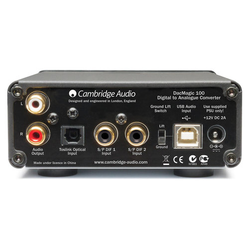 View Larger Image of DacMagic 100 Digital-to-Analogue Converter
