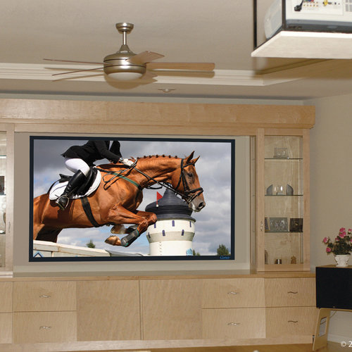 """View Larger Image of Fixed Frame 123"""" 16:9 Aspect Ratio Projector Screen (Tiburon G2)"""