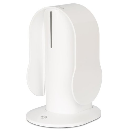 View Larger Image of BT Quality Bluetooth Wireless On-Ear Headphones with Heads Up Base Stand (White)