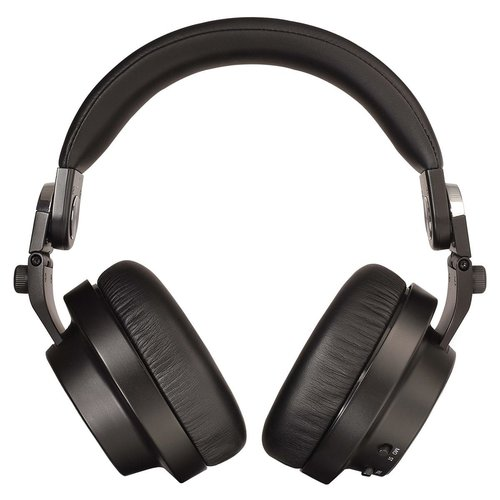 View Larger Image of DJ Professional Quality Over-Ear Headphones with Heads Up Base Stand (Black)