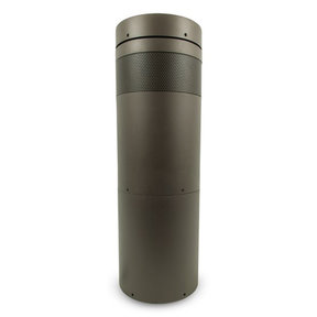 "10.0 8"" Bollard Subwoofer (Brown)"