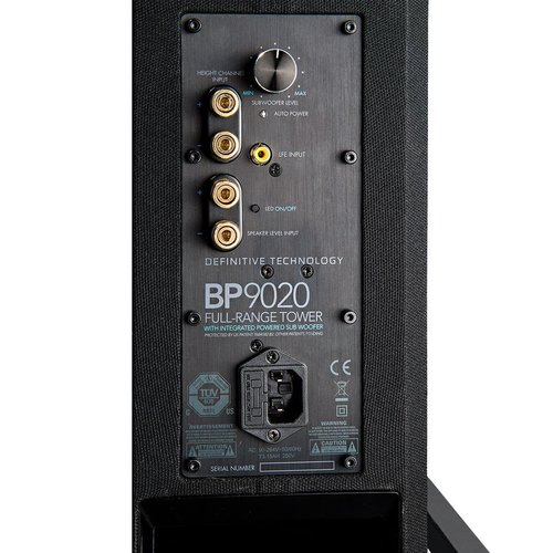 "View Larger Image of BP9020 High Power Bipolar Tower Speaker with Integrated 8"" Subwoofer"
