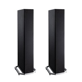 "BP9020 High Power Bipolar Tower Speakers with Integrated 8"" Subwoofer - Pair (Black)"