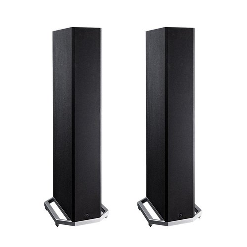 "View Larger Image of BP9020 High Power Bipolar Tower Speakers with Integrated 8"" Subwoofer - Pair (Black)"