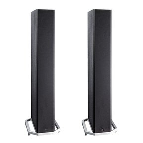 "BP9040 High Power Bipolar Tower Speakers with Integrated 8"" Subwoofer - Pair (Black)"