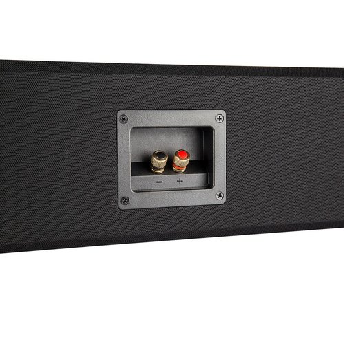 """View Larger Image of BP9040 High Power Bipolar Tower Speakers with Integrated 8"""" Subwoofer (Pair) with CS9040 High-Performance Center Channel Speaker (Black)"""