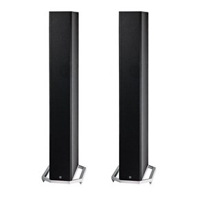 "BP9060 High Power Bipolar Tower Speakers with Integrated 10"" Subwoofer - Pair (Black)"