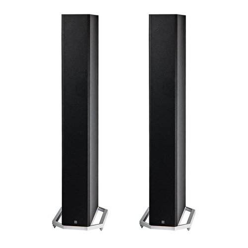"View Larger Image of BP9060 High Power Bipolar Tower Speakers with Integrated 10"" Subwoofer - Pair (Black)"