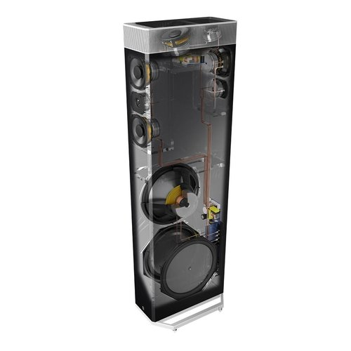 View Larger Image of BP9080 5.0 High Power Bipolar Tower Speaker Package with Integrated Subwoofers (Black)