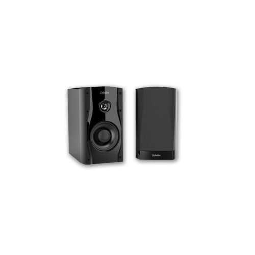 View Larger Image of StudioMonitor 45 High Performance Shelf/Stand Monitor Loudspeakers - Pair (Black)