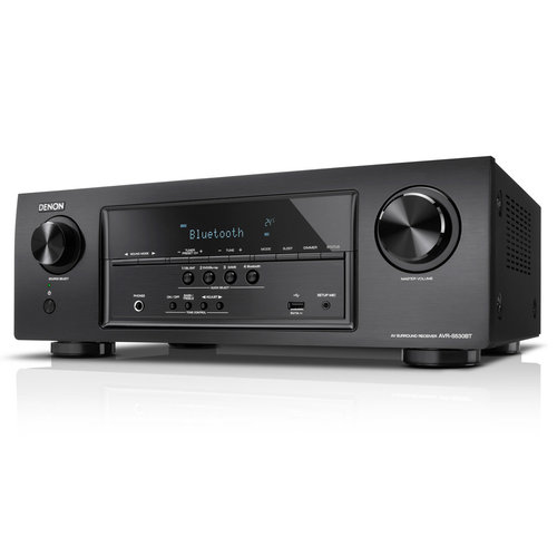View Larger Image of AVR-S530BT 5.2 Channel Full 4K Ultra HD AV Receiver with Bluetooth