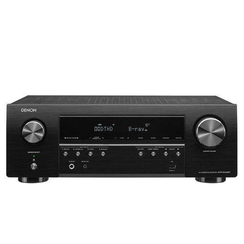 View Larger Image of AVR-S540BT 5.2 Channel 4K Ultra HD AV Receiver with Bluetooth