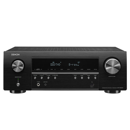 View Larger Image of AVR-S650H 5.2 Channel AV Receiver with Voice Control Compatibility