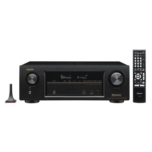 View Larger Image of AVR-X1300W 7.2 Channel 4K UHD Network A/V Receiver with Klipsch R-14M Reference Monitor Speakers (Cherry)