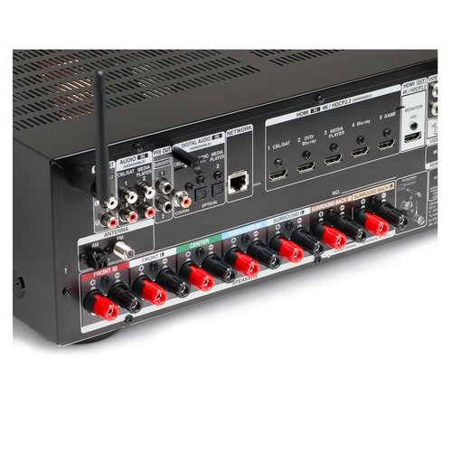View Larger Image of AVR-X1300W 7.2 Channel Full 4K Ultra HD Network A/V Receiver with Wi-Fi and Bluetooth