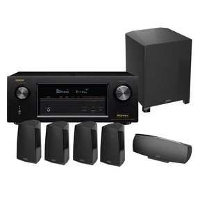 AVR-X2200W 7.2 Channel 4K Ultra HD Receiver with Definitive Technology ProCinema 400 5.1 Home Theater Speaker Package