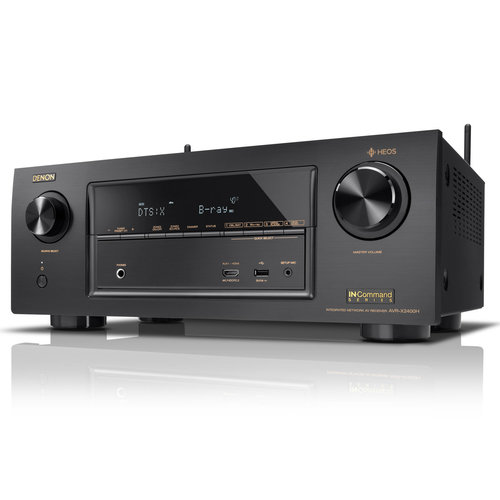 View Larger Image of AVR-X2400H 7.2 Channel Full 4K Ultra HD Network AV Receiver with Audio Technica AT-LP60 Turntable (Silver)