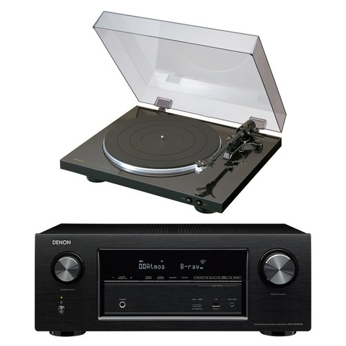 View Larger Image of AVR-X2400H 7.2 Channel Full 4K Ultra HD Network AV Receiver with DP-300F Fully Automatic Analog Turntable