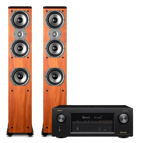 View Larger Image of AVR-X2400H 7.2 Channel Full 4K Ultra HD Network AV Receiver with Polk TSi400 Floorstanding Speakers - Pair