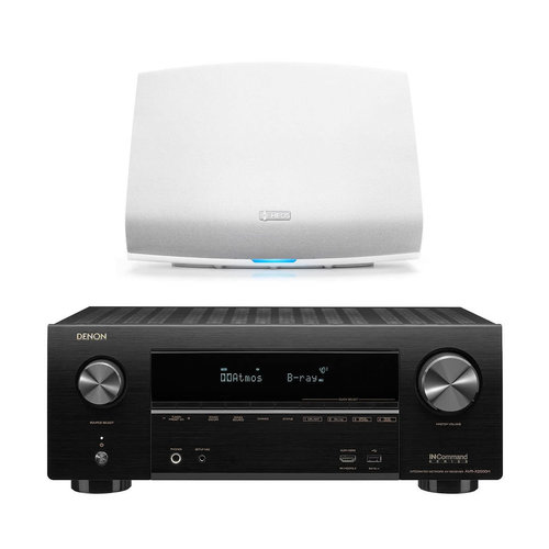 View Larger Image of AVR-X2500H 7.2-Channel 4K Ultra HD AV Receiver with HEOS 5 Wireless Streaming Speaker - Series 2