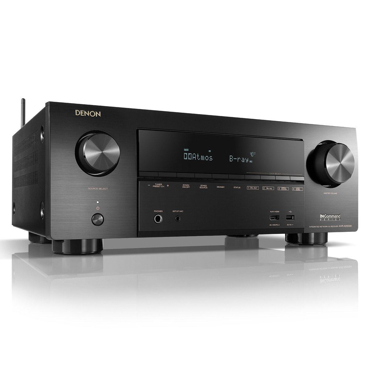 Refurbished : Denon AVR-X2500H Receiver HEOS | World Wide Stereo