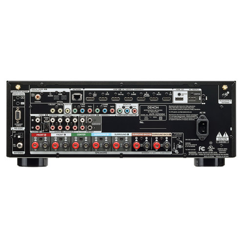 View Larger Image of AVR-X2500H 7.2-Channel 4K Ultra HD AV Receiver with HEOS