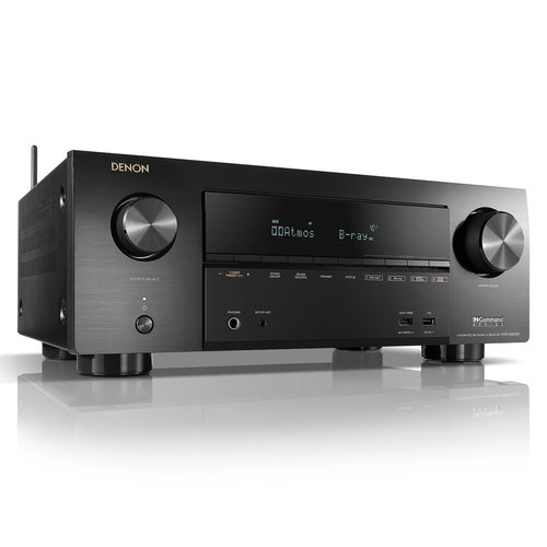 View Larger Image of AVR-X2500H 4K AV Receiver w/ Polk TSi300 Tower & TSi100 Bookshelf Speakers (Black)