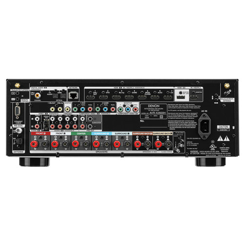 View Larger Image of AVR-X2600H 7.2-Channel 4K Ultra HD AV Receiver with 3D Audio and HEOS Built-In