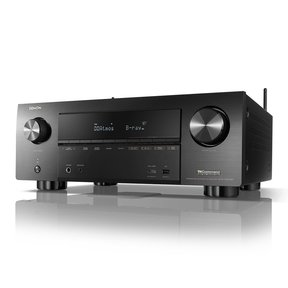 Factory Renewed, Black Denon AVR-X8500H 13.2 Channel Home Theater Receiver