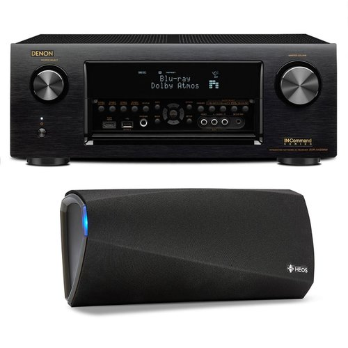 View Larger Image of AVR-X4300H 9.2 Channel Full 4K Ultra HD AV Receiver with HEOS 3 Dual-Driver Wireless Speaker System - Series 2