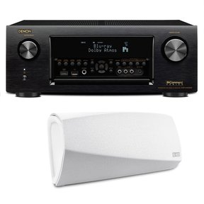 AVR-X4300H 9.2 Channel Full 4K Ultra HD AV Receiver with HEOS 3 Dual-Driver Wireless Speaker System - Series 2