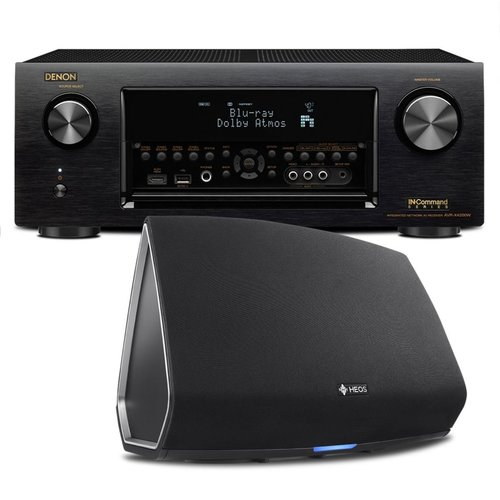 View Larger Image of AVR-X4300H 9.2 Channel Full 4K Ultra HD AV Receiver with HEOS 5 Four-Driver Wireless Speaker System - Series 2