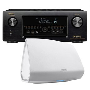 AVR-X4300H 9.2 Channel Full 4K Ultra HD AV Receiver with HEOS 5 Four-Driver Wireless Speaker System - Series 2